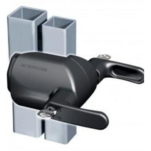 Z Lokk Magnetic Gate Lock Short Body Keyed Alike Black