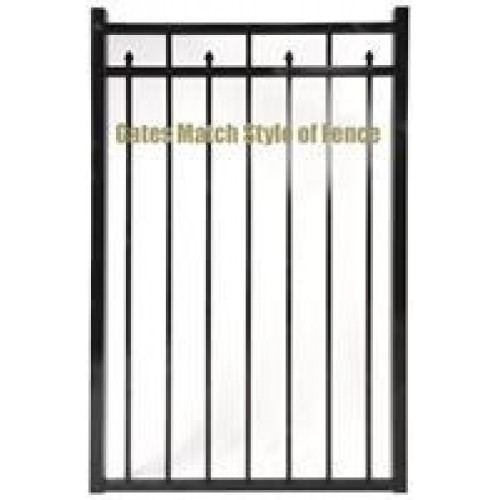 Jerith Residential 101 Modified Single Gate 42 Inch