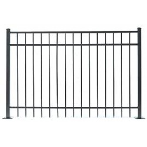 Jerith Residential 202 Panel 48 Inch High X 6 Ft Long Black