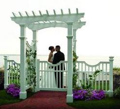 landscape wedding accent
