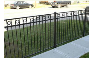 get your commercial steel fencing materials online here